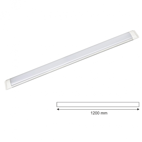 Beyaz Led Bant Armatür 120cm 36w